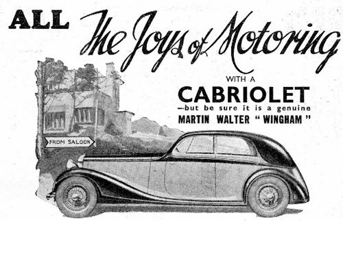 Rollers, Bentleys & The Wingham