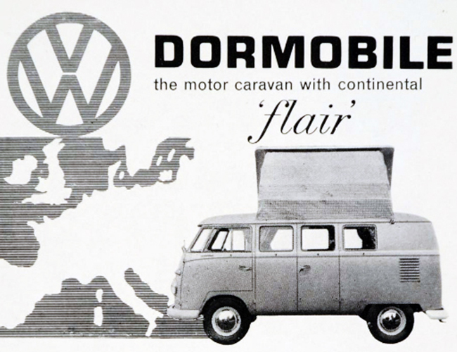 The Dormobile VW Split Screen